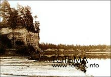 Сплав леса на реке Сухоне